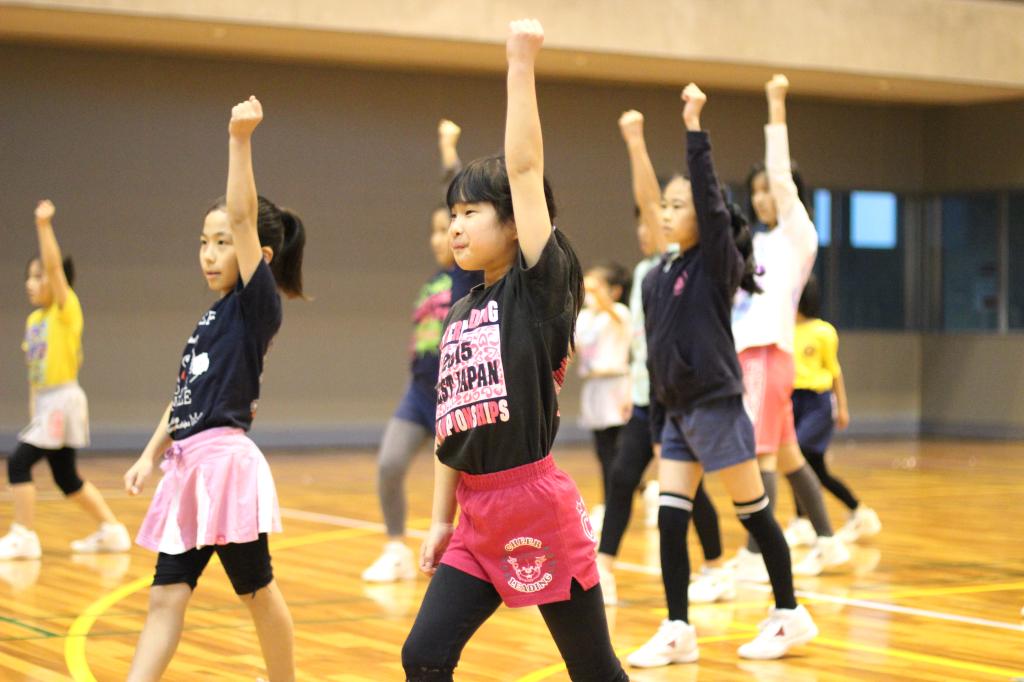 3月に西日本大会を控えたシュガーラビッツの練習風景