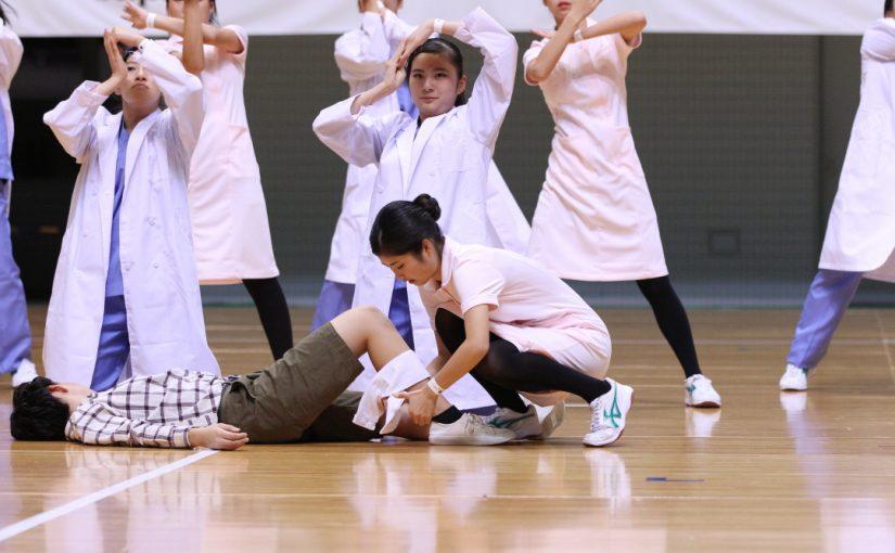 千里青雲高校ダンス部 その3 平成29年度ダンスドリル関西秋季競技大会