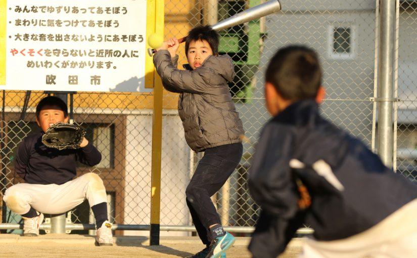 本気だぞ! 吹田千二クラブ vs 千里山パンサーズ非公式交流戦 at 電話公園