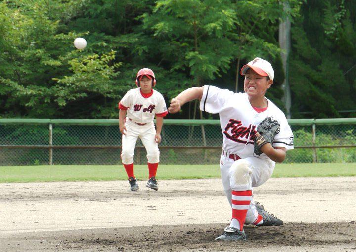 高槻野田ファイターズOBで松山聖陵正一塁手・今村広志郎君 明日、選抜のグラウンドに!