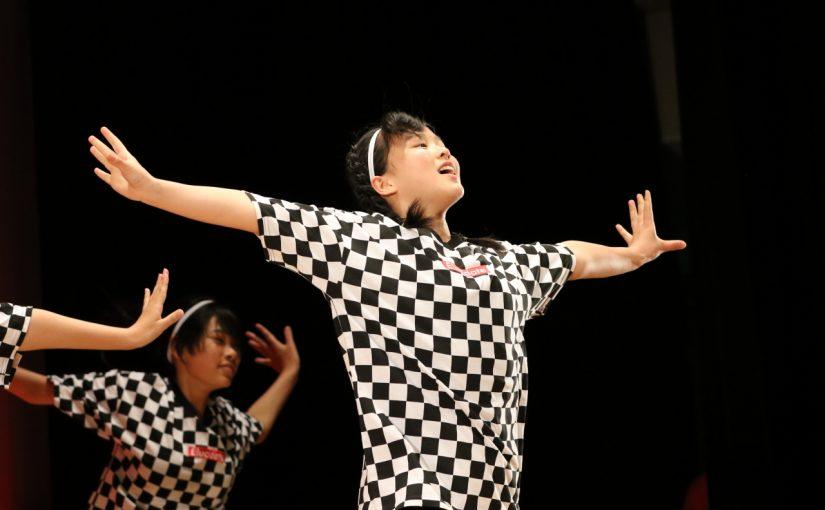 吹田一中ダンス部『愛好(あいす)』がステージに! 来年1月開催の吹田市PTA大会
