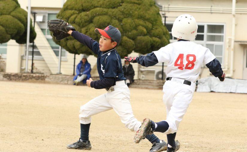 練習試合 片山南少年野球部 vs 千里山パンサーズ その12