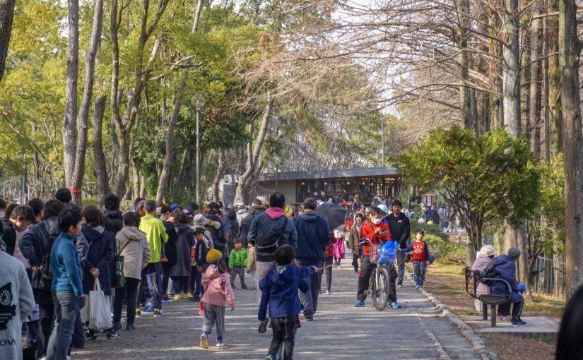 ただいまプレオープン中の千里南公園のパークカフェ『bird tree』がものすごい行列に! 2月24日(日)