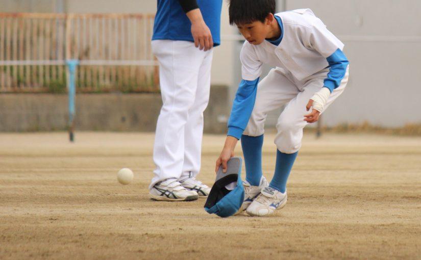 「ドラクエ」みたいなノック? 朝日旗控えた古江台少年野球部