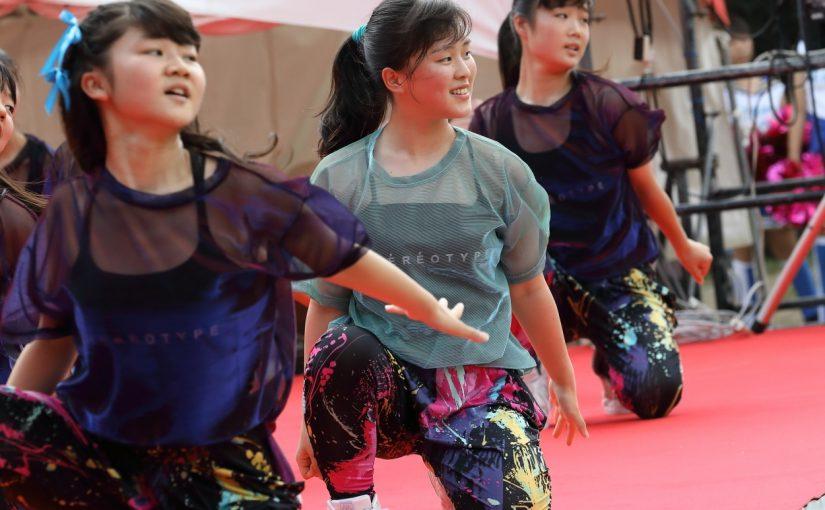 吹田一中ダンス部 吹田まつり・江坂会場のステージに!
